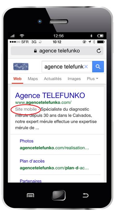 Aperçu résultat google compatible avec les mobiles